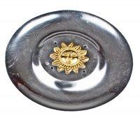 Räucherstäbchenhalter- Teller mit Sonne