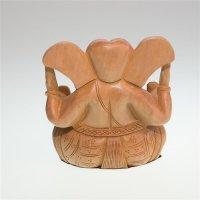 Appuganesha asu Holz, ca 10 cm