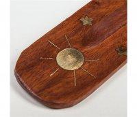 Räucherbrettchen mit Sonne, 25 cm