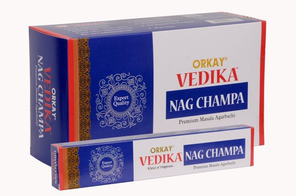 VEDIC Nag Champa, Blau, 15g
