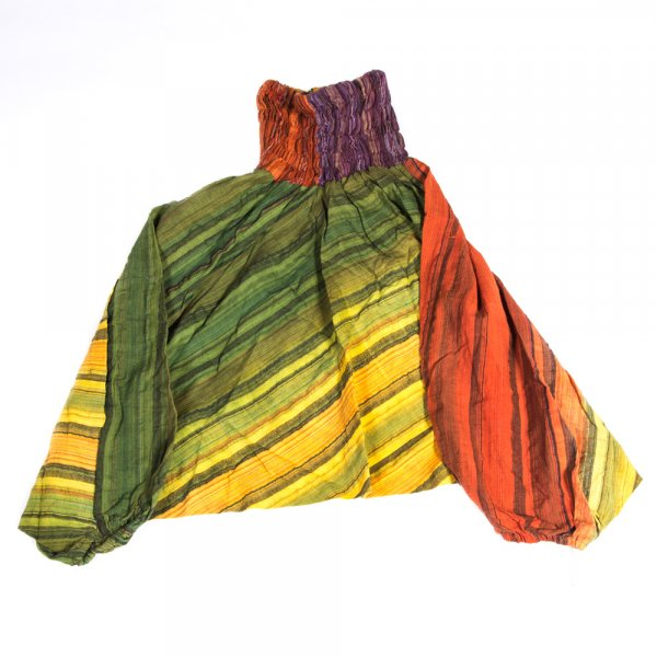 Haremshosen aus Baumwolle, 5er Pack