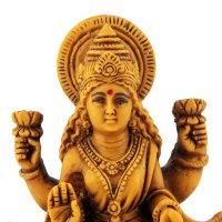 Lakshmi, Gold, ca 11 cm