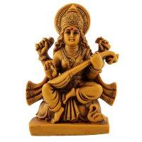 Saraswati, Gold, ca 11 cm