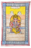 "Tagesdecke ""Götter"", 150x225 cm Ganesha"