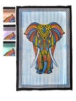 "Tagesdecke ""Elefant Front"", einzel, ca 150x220..."