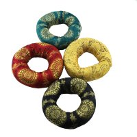 Klangschalenring aus Baumwolle, ca 12,5 cm, 4 Farben