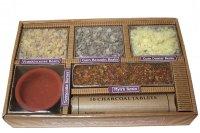 Räucherharz Geschenkset mit 4 verschiedene Harze,