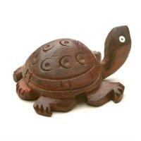 Schildkröte aus Rotholz, 3,75 cm