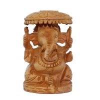 Ganesha auf Thron, ca 7,5cm