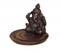 Teelichthalter mit Ganesha, ca 10 cm
