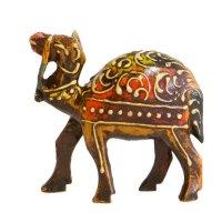 Kamel aus Holz handbemalt 7,5cm