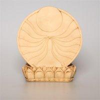 Amitabha - Buddha mit dem Sonnenrad, hell, ca 14 cm