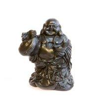 Budai - der lachende Buddha aus Polyresin, ca. 14 cm